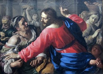 Christ Cleansing the Temple, c 1655 (J. Paul G...