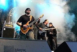 """Mekong Delta (band) - """"Kilkim žaibu XII"""" festival, Lithuania, 2011."""