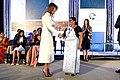 Melania Trump presents the 2017 International Women of Courage Award to Sandya Eknaligoda.jpg
