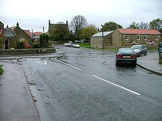 Melsonby village in United Kingdom