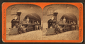 Men on railroad engine, by E. & H.T. Anthony (Firm).png