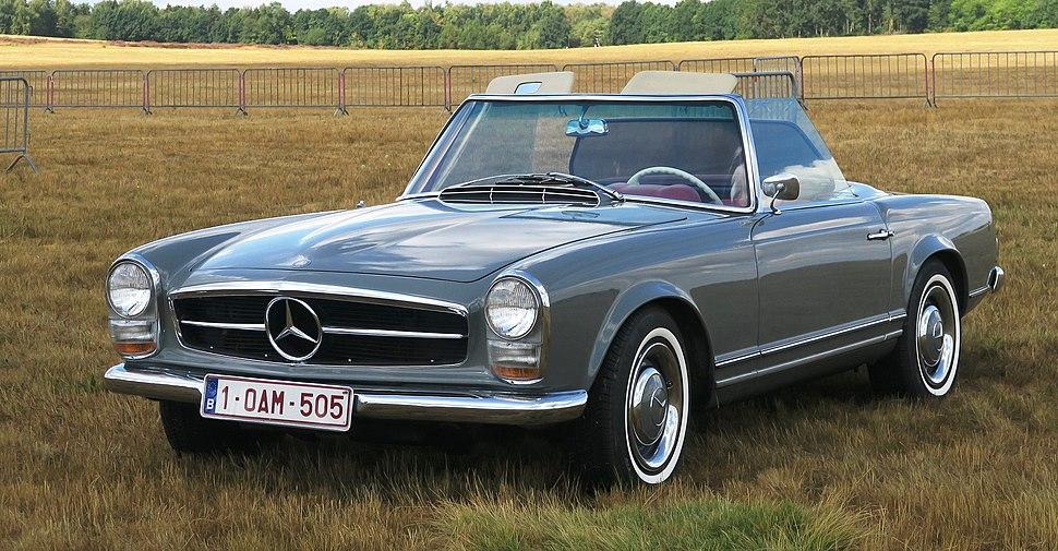 Mercedes-Benz W113 - Howling Pixel