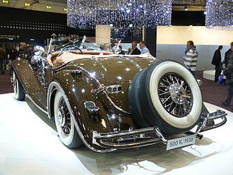 Mercedes-Benz 500K - Image: Mercedes 500 K 1936