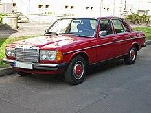 Mercedes W123.