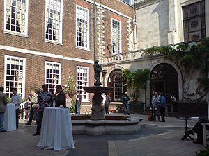 Merchant Taylors' Hall, London - The courtyard of Merchant Taylors Hall