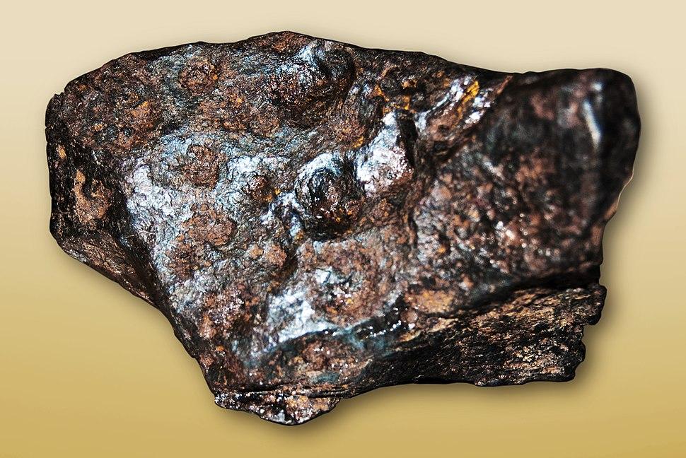 Meteorite fragment from the Cañon Diablo Meteorite