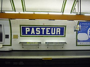 Metro Paris - Ligne 12 - Station Pasteur - Faience.jpg