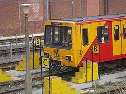 Metrocar 4056, Tyne and Wear Metro depot open day, 8 August 2010.jpg