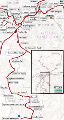 Airport Line Manchester Metrolink Wikipedia