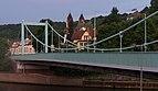 Mettlach, brug over de Saar met Kirche Sankt Lutwinus Dm op de achtergrond foto7 2017-05-28 21.28.jpg