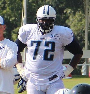 Michael Oher - Oher with the Tennessee Titans, 2014