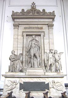 Tomb monument of Eugène de Beauharnais in St. Michael's Church, Munich, sculpted by Bertel Thorvaldsen (Source: Wikimedia)