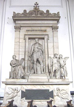 St Michael's Church (Neuhauser Straße, Munich) - Monument to Eugène de Beauharnais by Bertel Thorwaldsen.