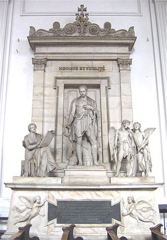 St. Michael's Church, Munich - Monument to Eugène de Beauharnais by Bertel Thorwaldsen.