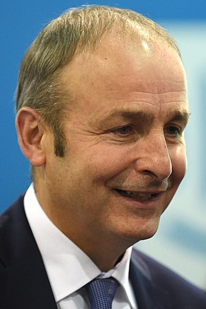 Irish general election, 2011 - Image: Micheál Martin 2015 (cropped)
