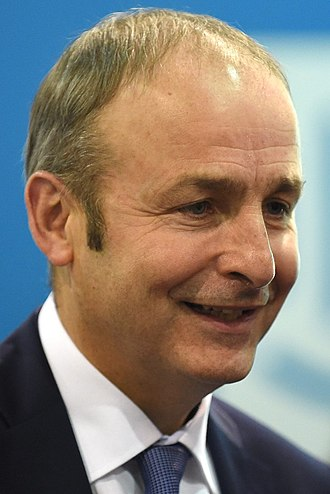 Irish general election, 2016 - Image: Micheál Martin 2015 (cropped)