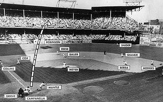 1953 World Series - Image: Mickey Mantle 1953 World Series Grand Slam