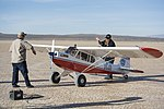 Micro Cub maiden flight engine start.jpg