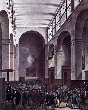 London Stock Exchange - London Stock Exchange in 1810