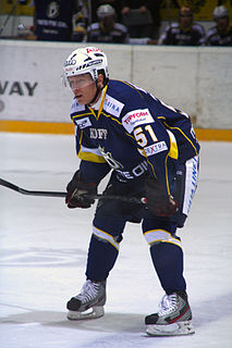 Mika Hannula Swedish ice hockey player