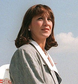 Mila Mulroney - Mila Mulroney after an official visit in 1984