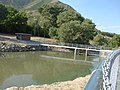 Mill Race Canal diversion dam, Jul 15.jpg