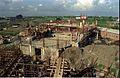 Mini Auditorium Under Construction - Convention Centre Complex - Science City - Calcutta 1994-10-17 088.JPG