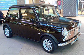 Mini (marque) - A Mark VI Mini, in production from 1990 to 1995.