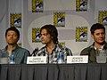 Misha Collins, Jared Padalecki & Jensen Ackles (4852020731).jpg