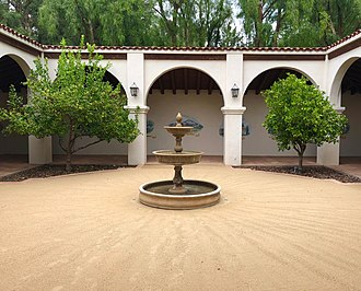Gardens of the World - Image: Mission courtyard gardens of the world