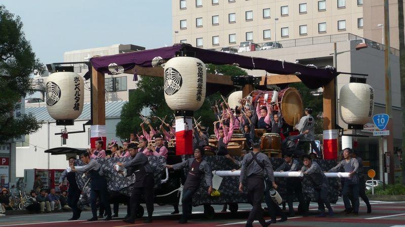 File:Miyazaki Shrine Grand Festival in 2008 Jinmu Kodomo Taiko 01.jpg