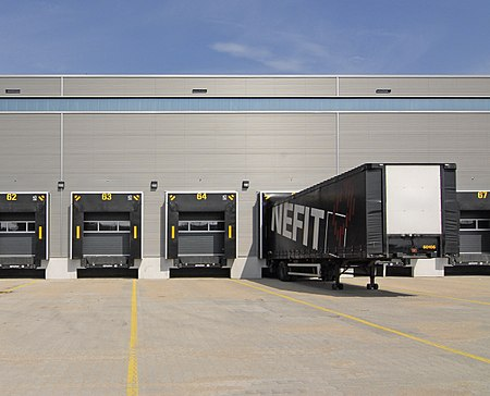 Modern loading dock.