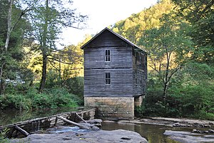 National Register of Historic Places listings in Webster County, West Virginia - Image: Mollohan Mill
