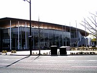 Momotaro arena, April, 2008.JPG