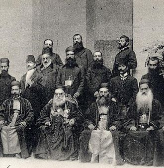 Maronites - Maronite Patriarch and bishops in Rome, 1906