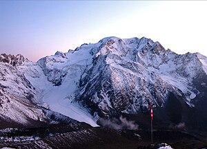 Mont Vélan - Mont Vélan as seen from Valsoray hut