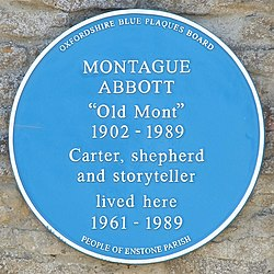Montague abbott plaque