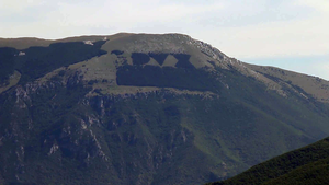 "Antrodoco - Monte Giano with the ""DVX"" inscription"