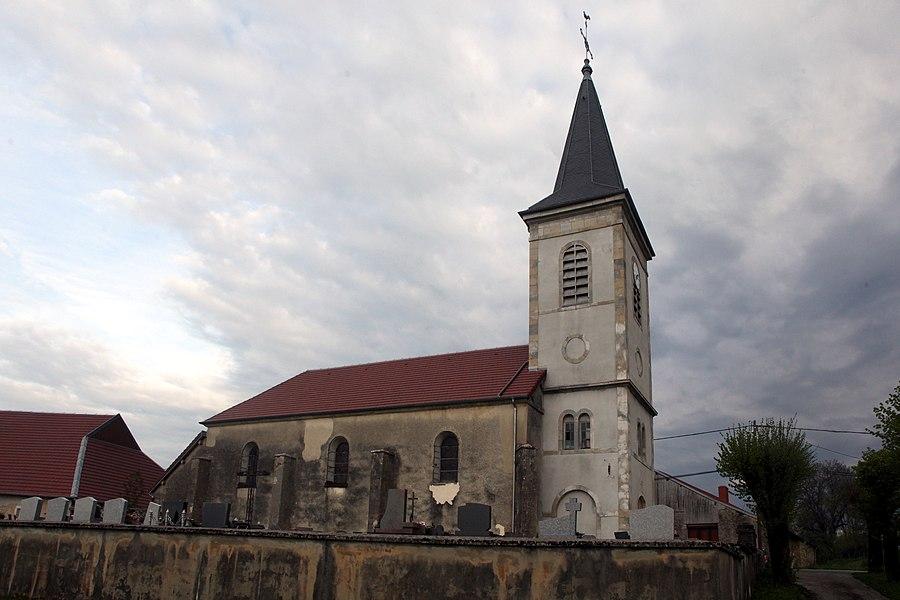 Église de Montmahoux (Doubs).
