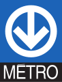 Montreal Metro Logo (with text).svg