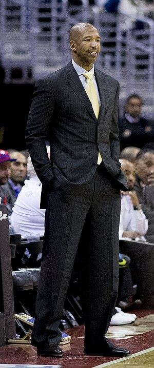 Monty Williams - Williams as Pelicans' head coach in 2014