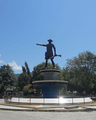 Gorontalo - A monument of Nani Wartabone, a Gorontaloan national hero who resisted both the Dutch and the Japanese.