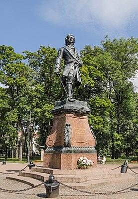 Памятник Роза из двух видов гранита Бийск Памятник с крестом на просвет Чаплыгин