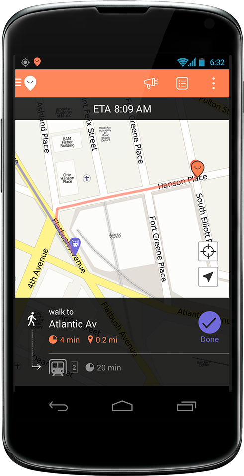 Moovit Navigate 3.0