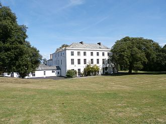 Moreton House, Bideford - Moreton House, south front