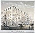 Morley's warehouses, corner of Milk Street and Gresham Street, c. 1840.jpg