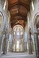 Mosteiro de San Lourenzo de Carboeiro - Monasterio de San Lorenzo de Carboeiro - Monastery of Carboeiro - Interior - 06 - Nave central.jpg