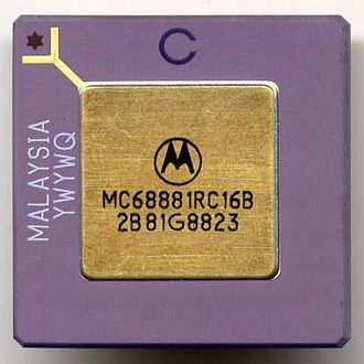 Motorola 68881 - A Motorola 68881 FPU