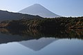 Mount Fuji from Lake Sai.jpg