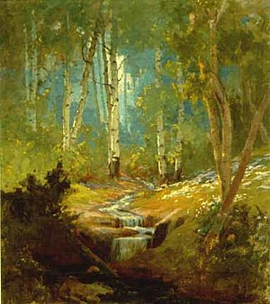 John Hafen - Mountain Stream (1903)